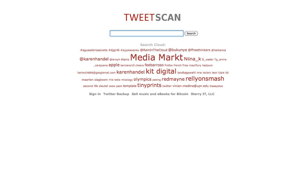 tweetscan