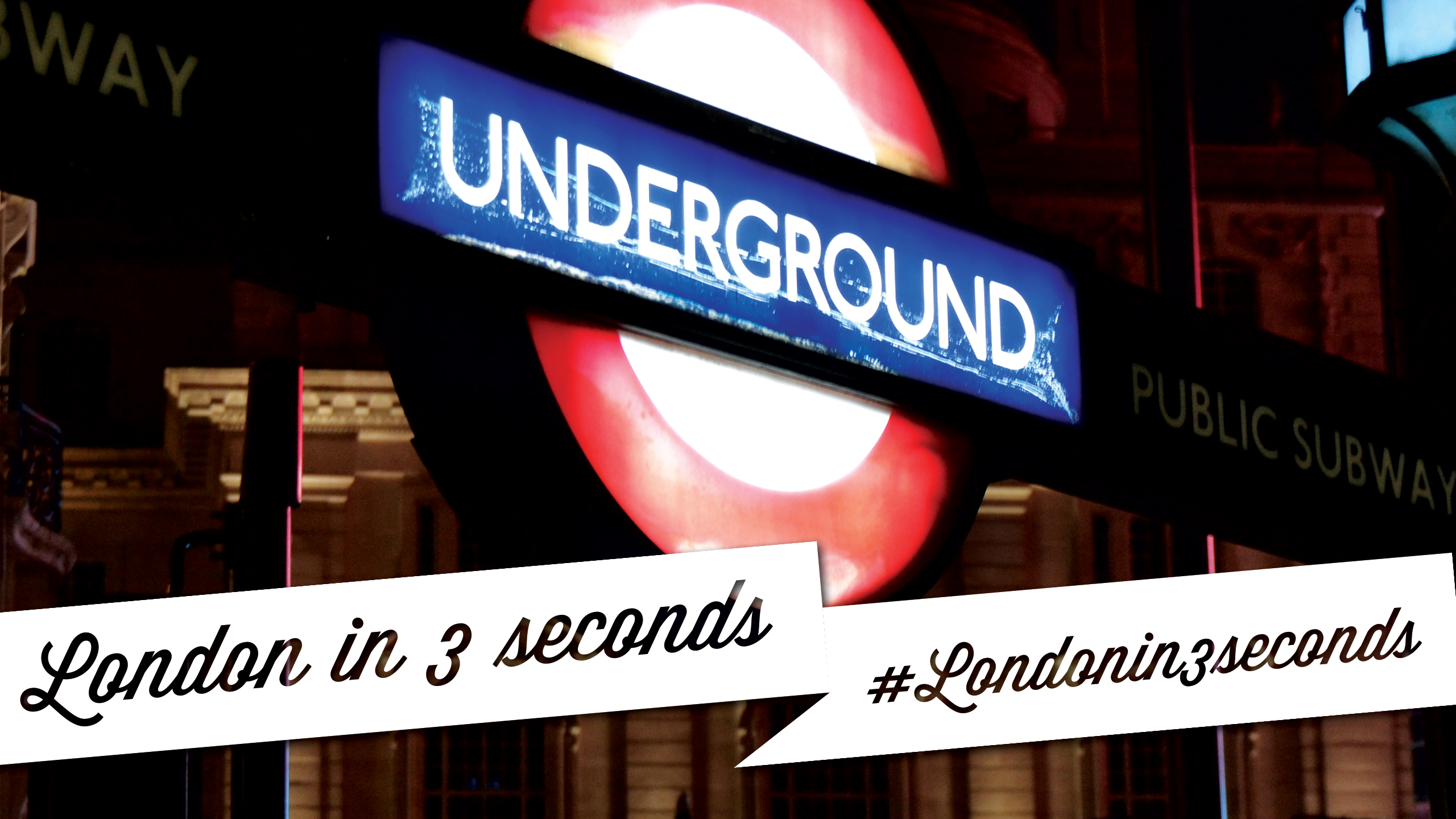 #Londonin3seconds London in 3 seconds