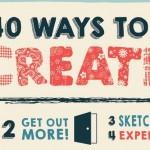 Facing a creative block? Break it in 40 different ways to stay creative [Infographic]
